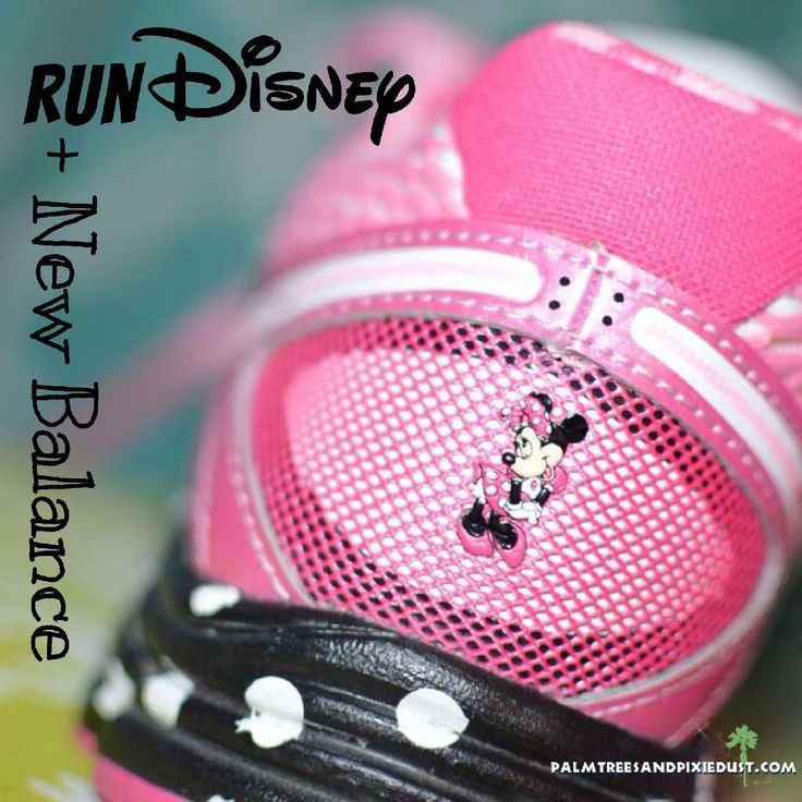 runDisney + New Balance Minnie Mouse collaboration! www