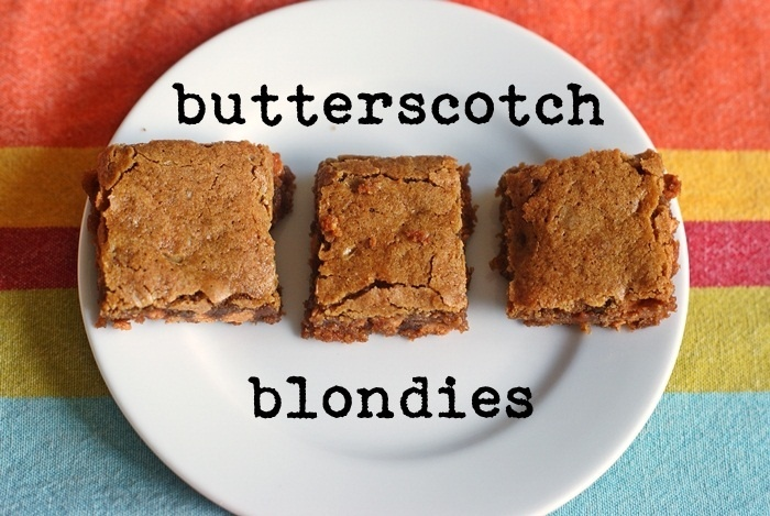 salted butterscotch blondies. | N. CA specialty foods: dairy/cheese ...