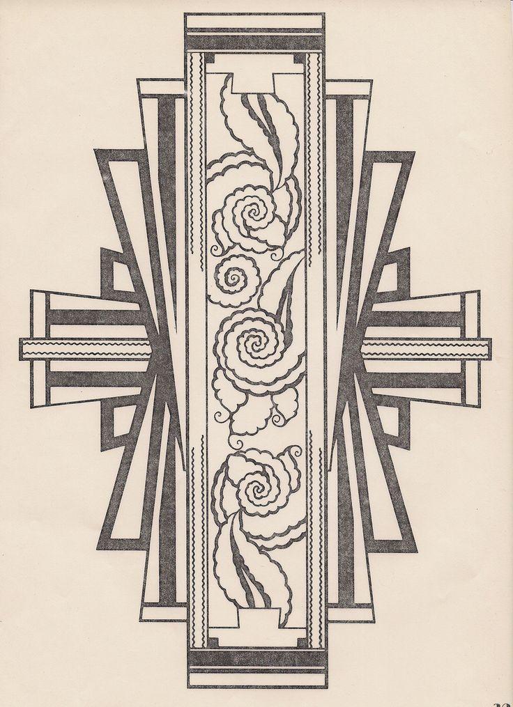 Art deco design design motifs patterns pinterest for What is art deco