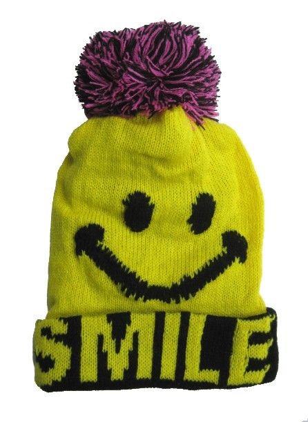 Baby Winter Smiley Face BeanieWinter Smiley Face
