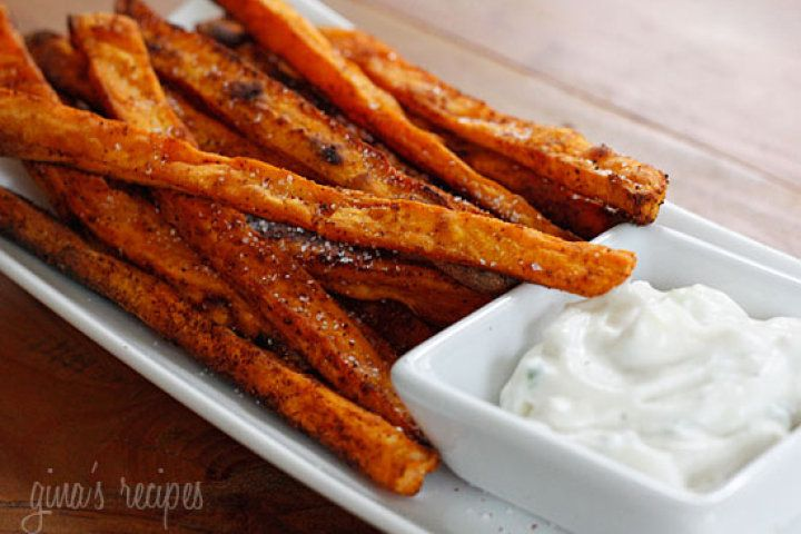 Baked Chipotle Sweet Potato Fries | Recipes | Pinterest