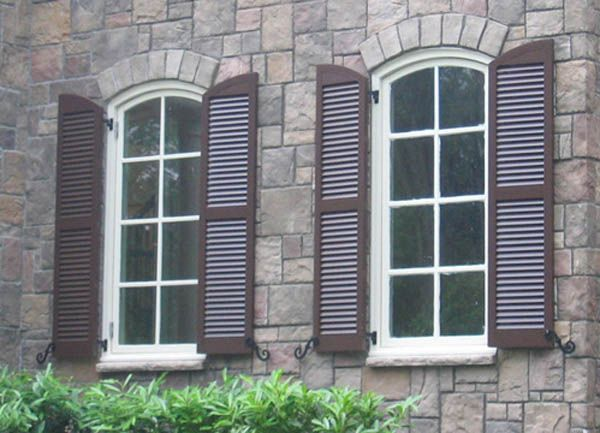 Types of exterior shutters exterior pinterest - Types shutters consider windows ...