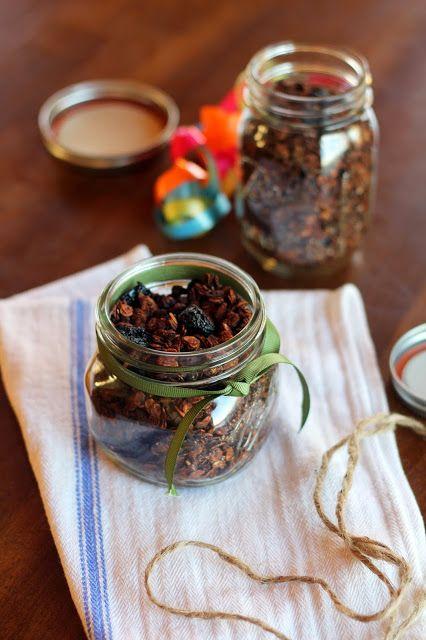 Chocolate Cherry Granola | Breakfast | Pinterest