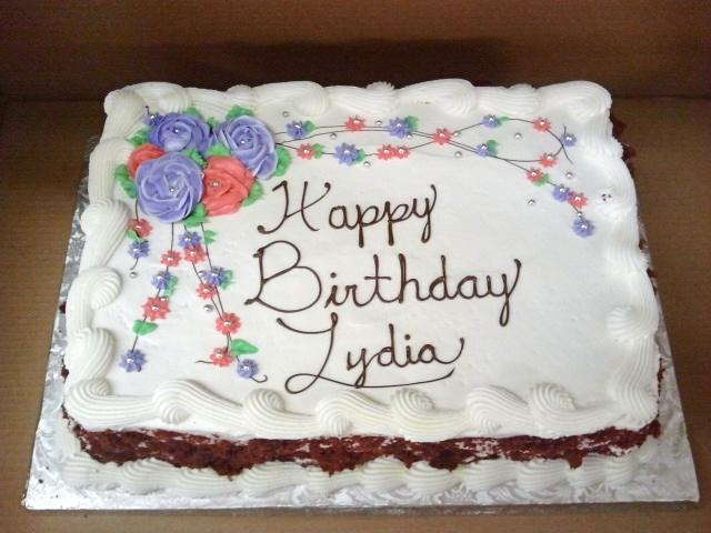 Cream Cheese Frosting Birthday Cakes