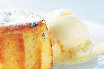 Blackberry Ice Cream With Amaretto Recipe — Dishmaps