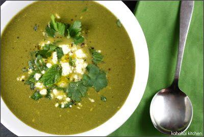 Herb, Chard and Feta Soup | Soups | Pinterest