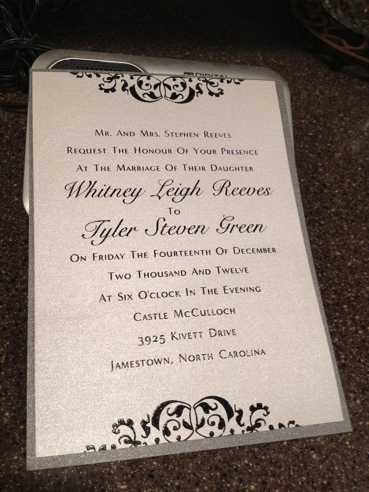 Wedding invitation wedding ideas pinterest for Pinterest invitation