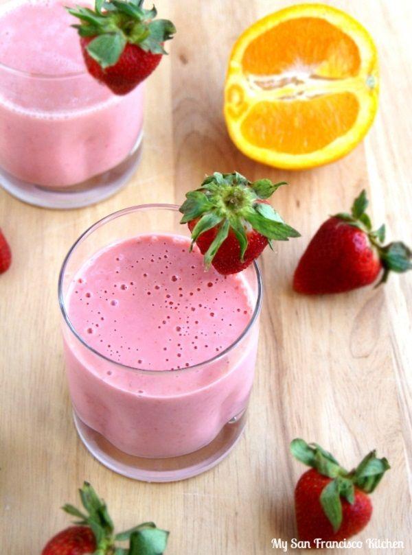 ... Sharper Mind: Brain-Boosting Recipes Strawberry Orange Dream Smoothie