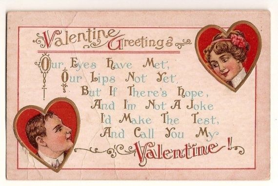 valentine poems in cards