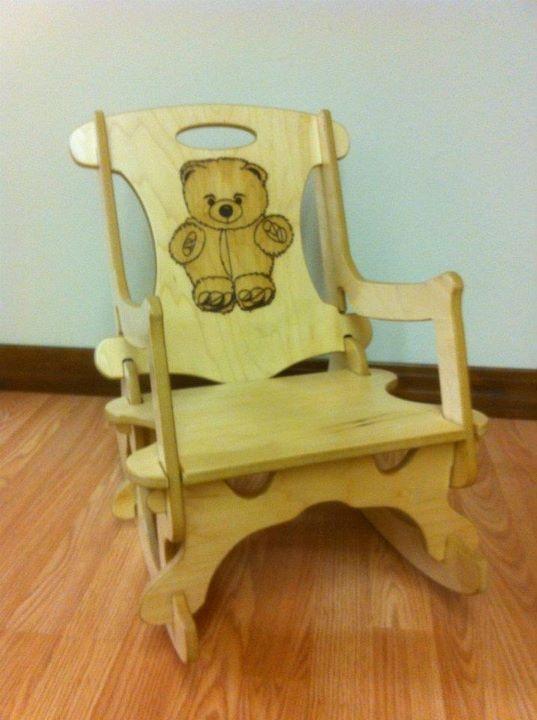 Teddy Bear Puzzle Rocking Chair Kid S Room Pinterest