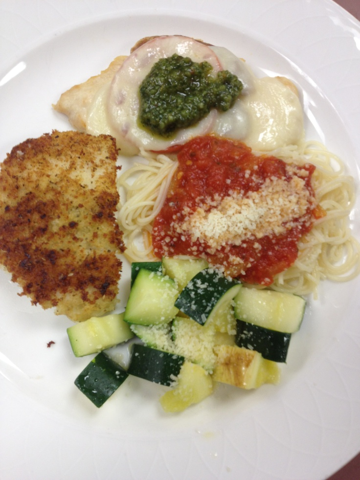 bread crumb crusted Paired with Chicken Italiano, Chicken breast ...