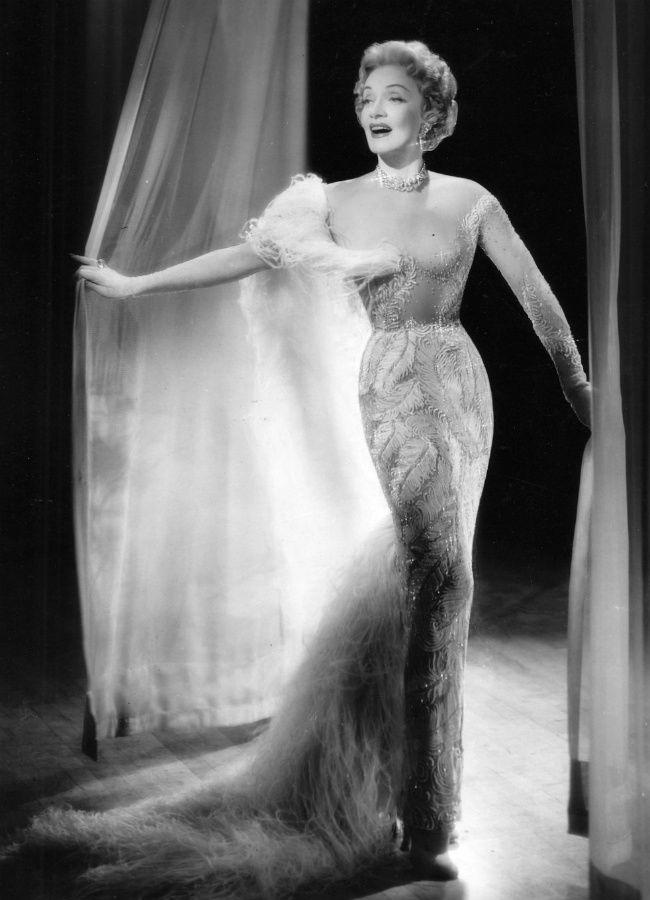 Marlene Dietrich in Las Vegas - 1955