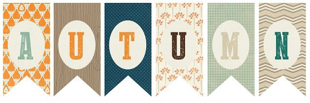 Hand and Seek: Autumn Paper Banner Tutorial With Download