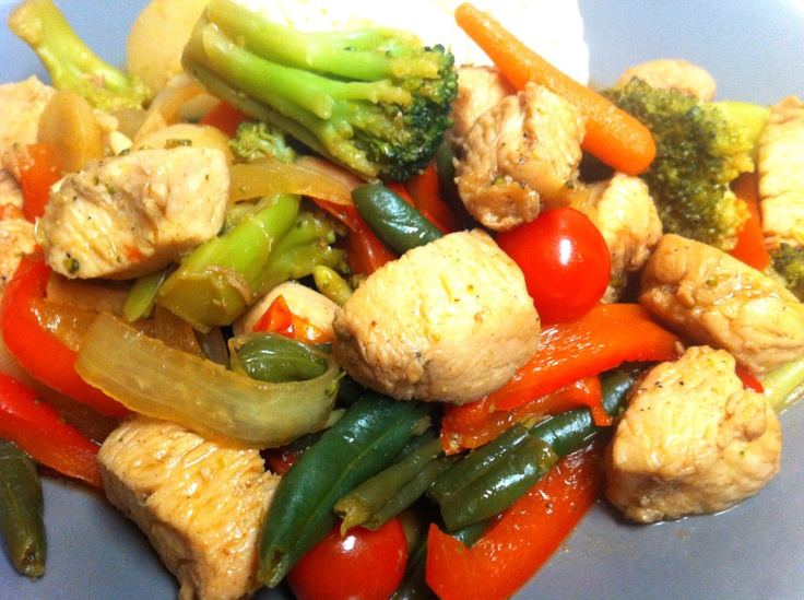 Easy Chicken Stir Fry « IamSimplyTia | Recipes that aren't dessert ...