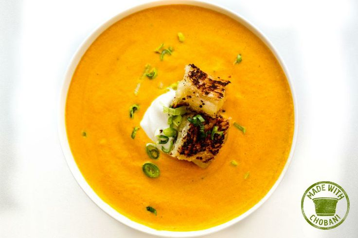 Carrot Ginger Soup with Chobani