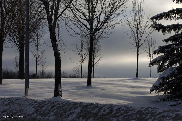 L'hiver by Andre Villeneuve, via 500px