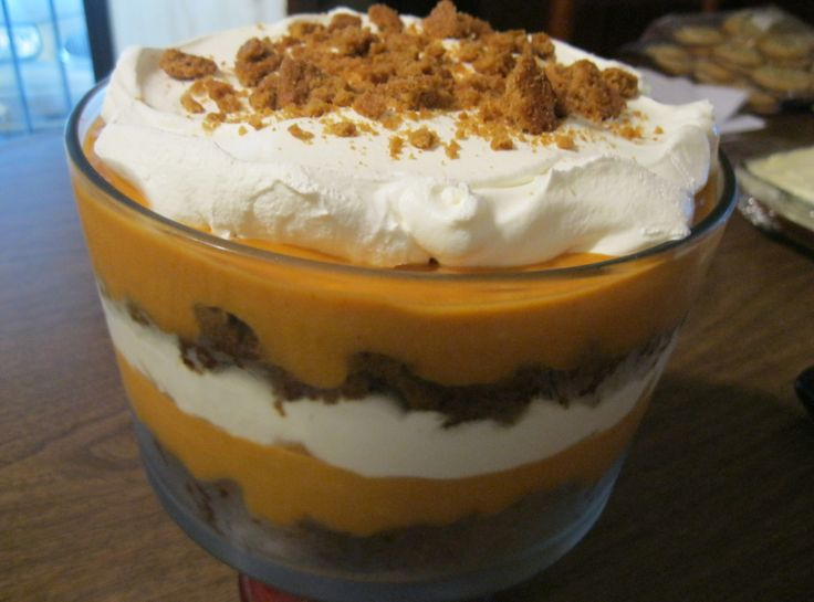 Pumpkin Gingerbread Trifle- this looks and sounds fantastic! Must try!