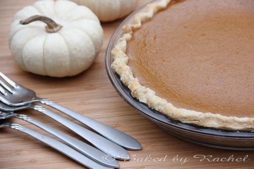Jamaican-Spiced Pumpkin Pie - bakedbyrachel.com