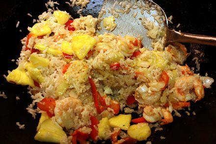 Pineapple Shrimp Fried Rice | Seafood | Pinterest