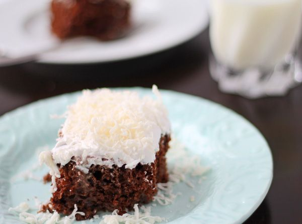 Chocolate Coconut Tres Leche Cake. Must. Try. This. I LOVE tres leches ...