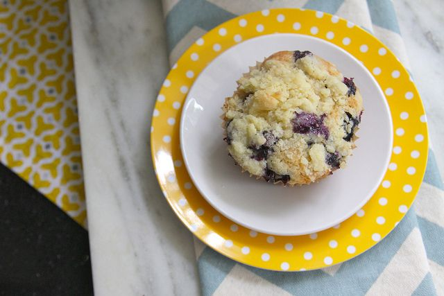 Brown Butter Blueberry Muffins -- slightly obsessed with blueberries ...