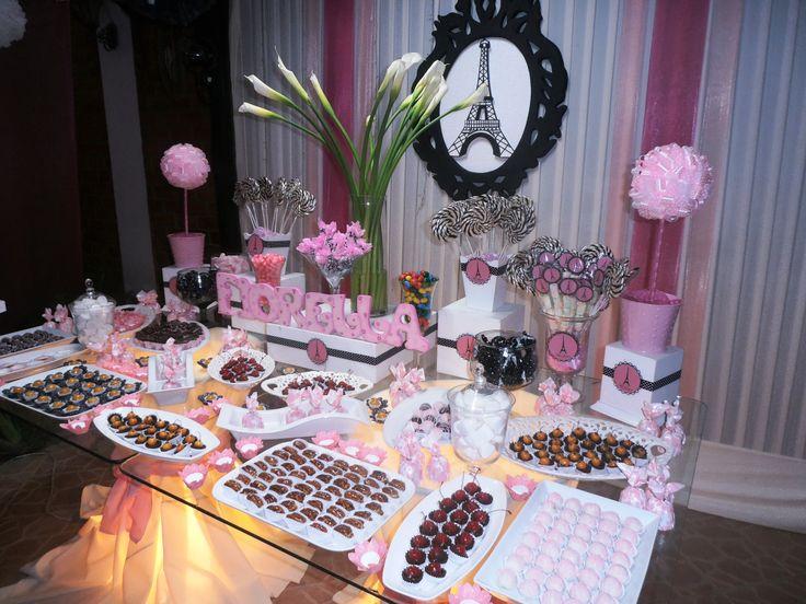 Decoración de dulces para 15 años - Imagui