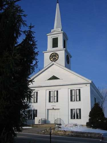Chester New Hampshire Historic Church New England