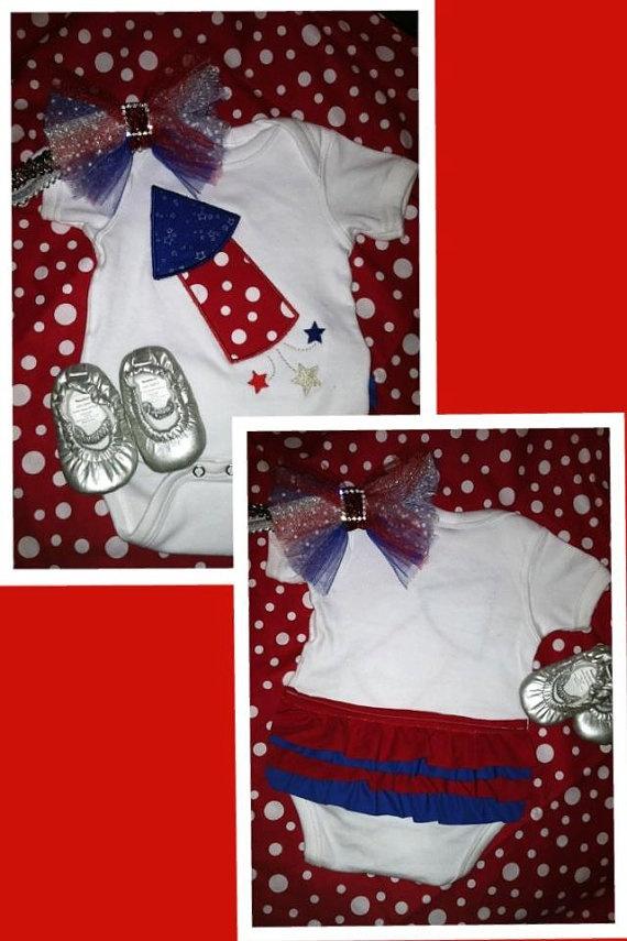 fourth of july onesie