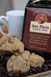 Kona Mocha Scone Mix- Sweet Legacies ...The best scones EVER! : )