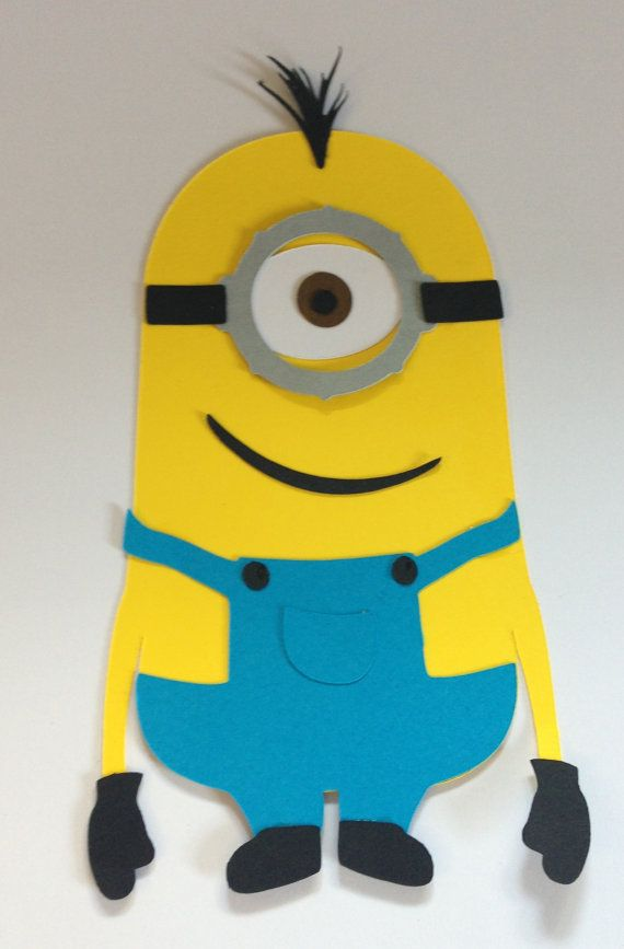 It's just a graphic of Bewitching Minion Printable Cutouts