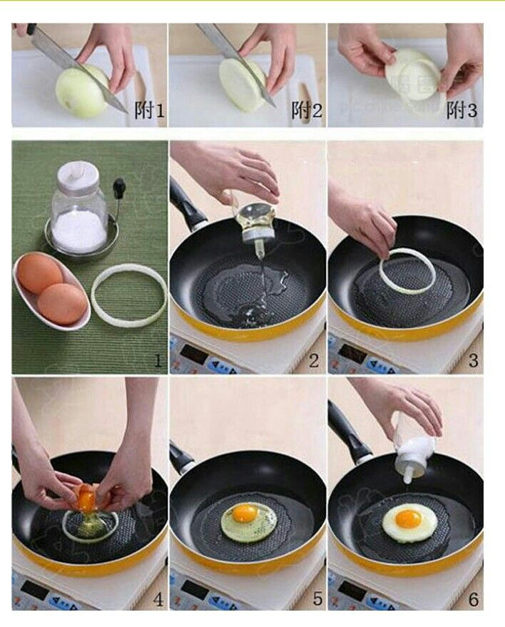 Perfect fried egg | Foodie | Pinterest