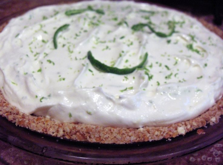 Margarita Pie | Sweet treats and fizzy drinks | Pinterest