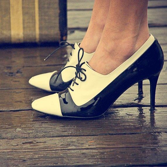 beautiful oxford heels