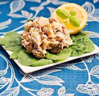 Lemon Basil Chicken Salad | Now I'm Cooking: Salads & Salad Dressings...