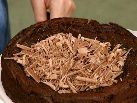 Dense Bittersweet Chocolate Cake