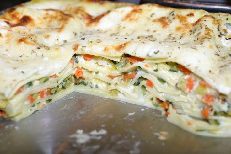 Roasted Vegetable Lasagna | yummy food | Pinterest