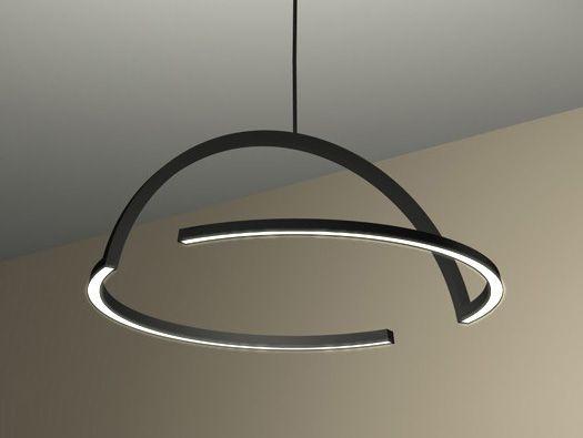 2D LED Pendant Lamp