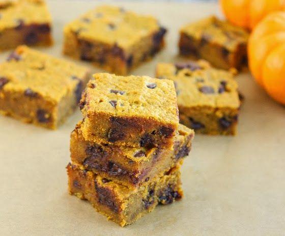 Pumpkin Chocolate Chip Bars | sweet | Pinterest