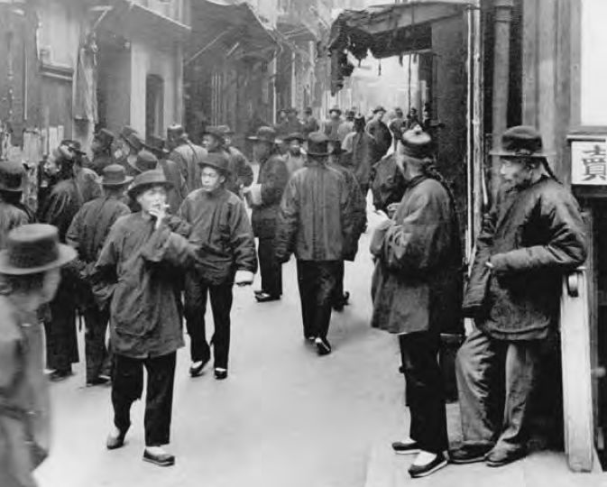 had the largest concentration of Chinese immigrants in North AmericaChinese Immigrants 1900s