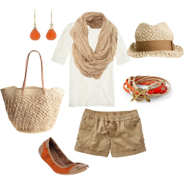 Easy beach shopping, created by jewhite76 on Polyvore
