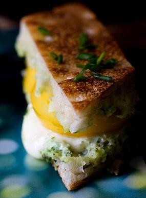 Cheesy, Heirloom, Panini Batons   Recipe