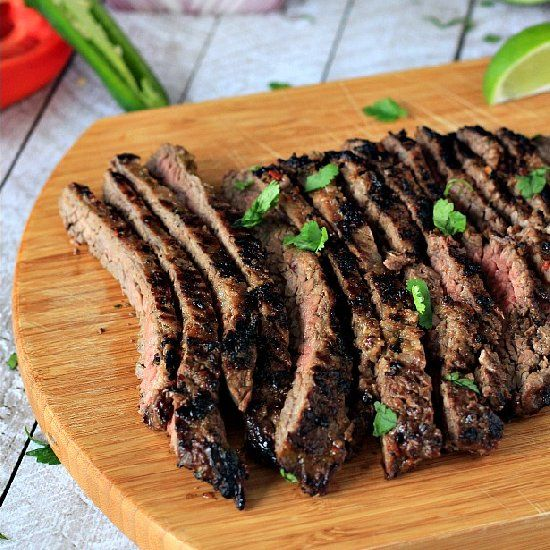 killer sweet and spicy Fajita Steak Marinade mixture made with sweet ...