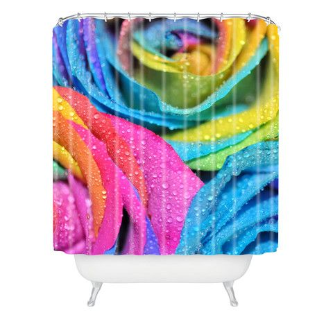 More like this shower curtains swirls and rainbows