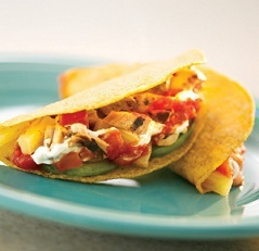Slow Cooker Chili Chicken Tacos | Recipes I'd like to try | Pinterest