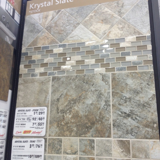 Menards subway tile