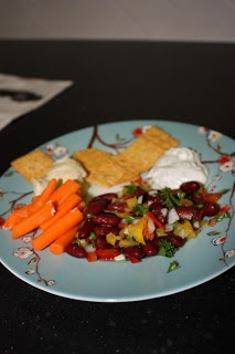 Delectably Healthy: Mediterranean Inspired Kidney Bean Salad