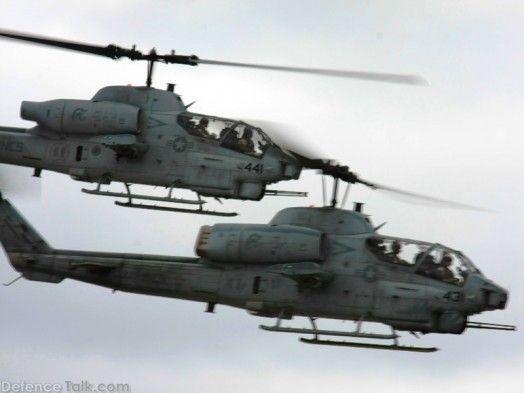 USMC AH-1W Super Cobra Attack Helicopter | Attack ...