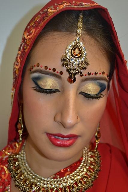 Cultural Bridal Makeup Bridal Makeup Pinterest