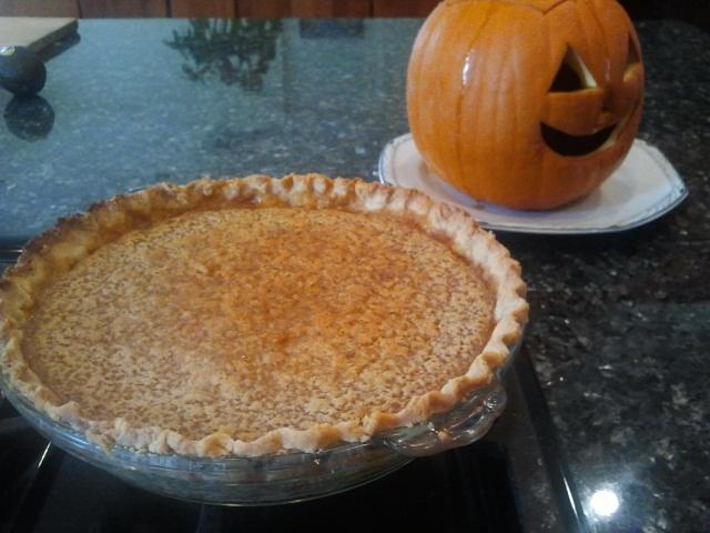 Gluten Free Pumpkin Pie! | NOM | Pinterest