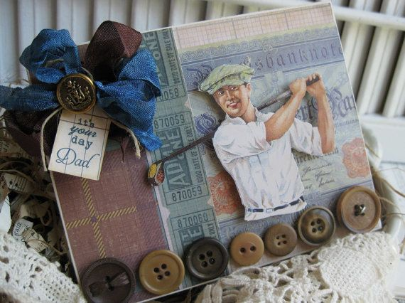 golf fathers day cards to make